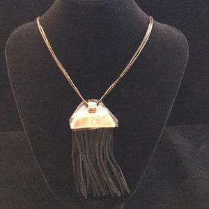 """Gorgeous, 19"""" bronze chain necklace by Express."""